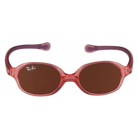 Ray-Ban Sluneční brýle '0RJ9187S' pink / hnědá
