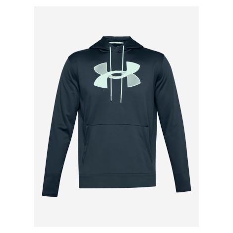 Armour Fleece® Big Logo Mikina Under Armour Modrá
