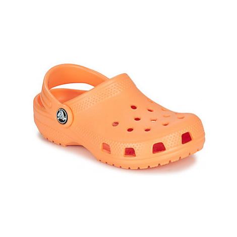Crocs CLASSIC CLOG K Oranžová