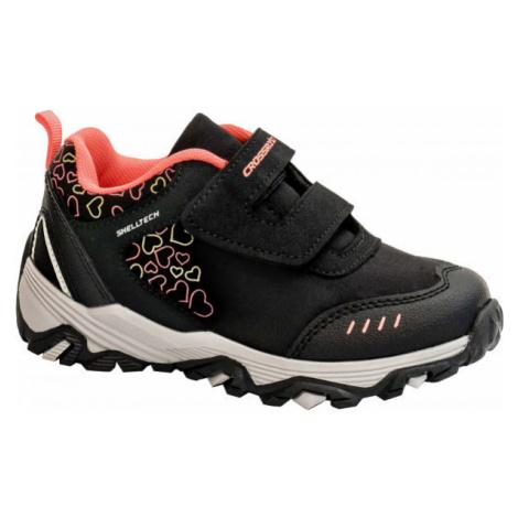 Crossroad DIAMS černá - Dětská treková obuv