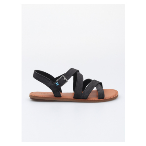 Sicily Sandále TOMS Černá