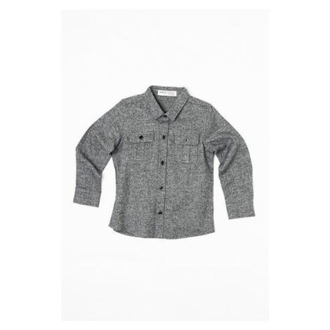 Šedá chlapecká flanelová košile Anatoly Pidilidi