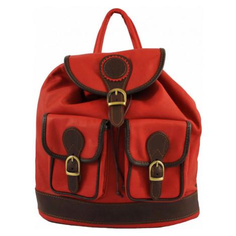 Italský dámský kožený batoh Arianna