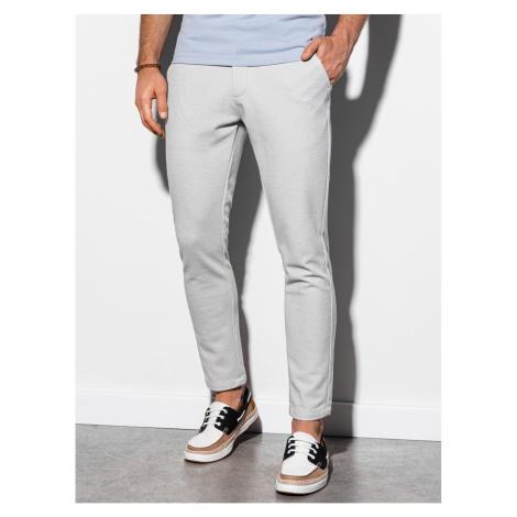Pánské kalhoty Ombre P891 Chino