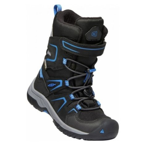 Keen LEVO WINTER WP C černá - Dětské zimní boty