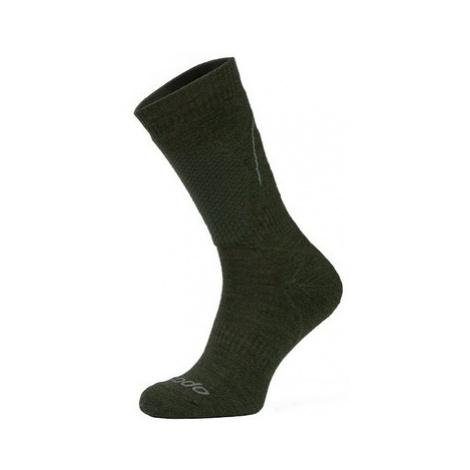 Ponožky COMODO HUN 1 - Merino - outdoor/lov - khaki