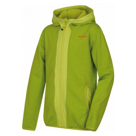 Dětská mikina HUSKY Artic Zip Kids výrazná zelená