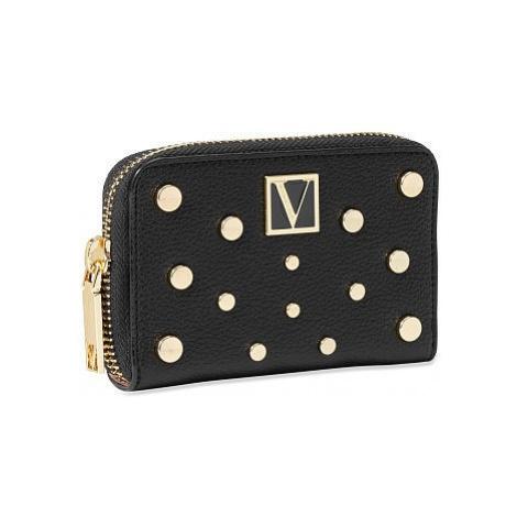 Victorias Secret malá černá peněženka The Victoria Small Wallet Victoria's Secret
