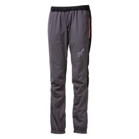 Progress STRIKE LADY šedá - Dámské zateplené kalhoty na běžky