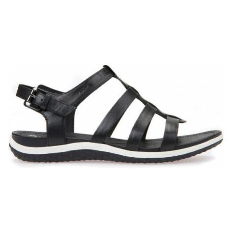 Geox D SANDAL VEGA černá - Dámské sandále