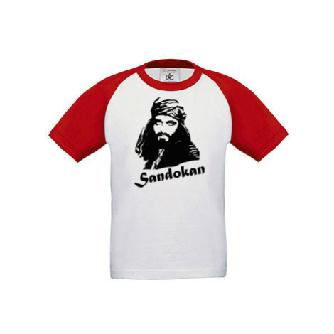 Dětské tričko baseball Sandokan