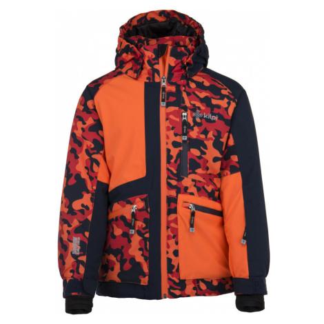 KILPI Chlapecká lyžařská bunda JACKYL-JB JJ0004KIORN Oranžová