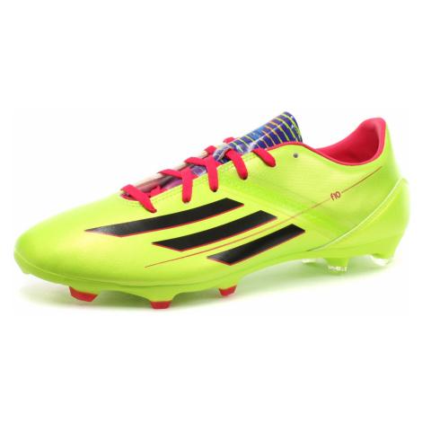 Obuv Adidas F10 TRX FG - neonově zelená 075