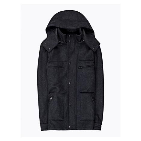 GATE Kabát z vlněné směsi a kapucí
