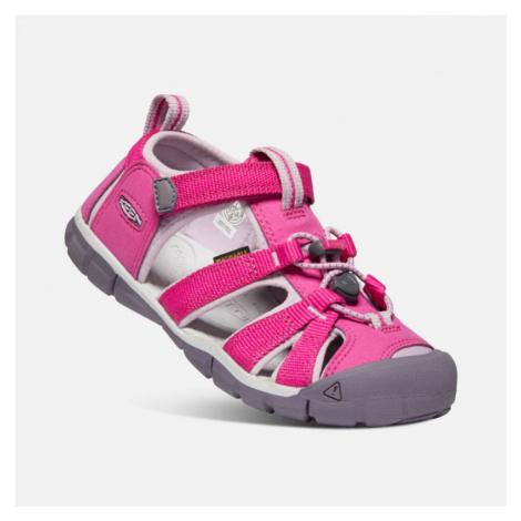 Dětské sandály Keen Seacamp II CNX Youth very berry/dawn pink