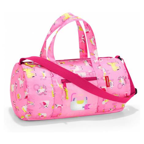 Reisenthel Mini Maxi Dufflebag Kids Abc friends pink