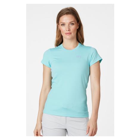 Dámské modré funkční krátké tričko Helly Hansen Lifa Active
