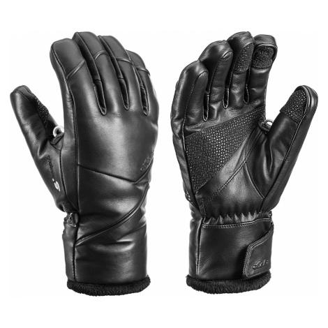 Lyžařské rukavice Leki FIONA S LADY MF TOUCH černá