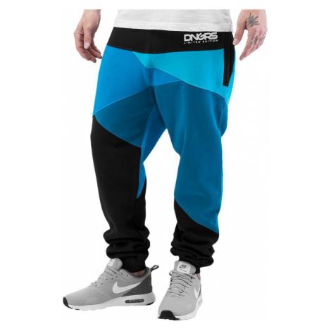 Dangerous DNGRS kalhoty pánské Locotay Sweatpants Blue/Black