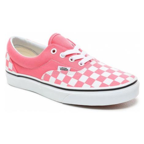 Boty Vans Era checkerboard strawberry