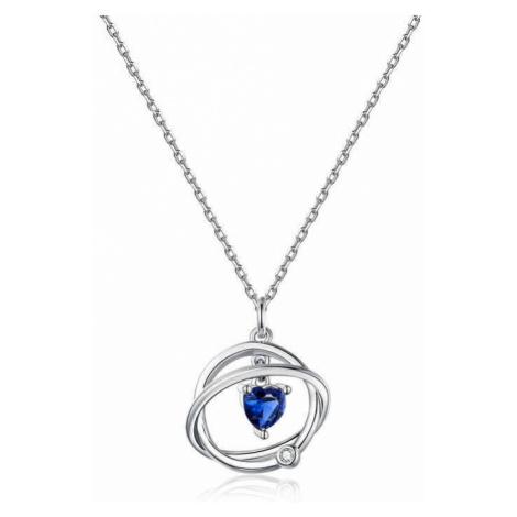 Linda's Jewelry Stříbrný náhrdelník Galaxy Ag 925/1000 INH068