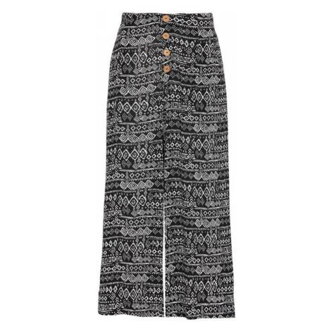 Krepová kalhotová sukně culotte se vzorem Cellbes