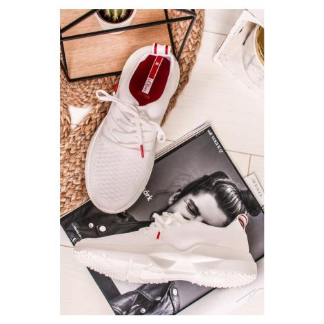 Bílé textilní tenisky 5-23601 s.Oliver