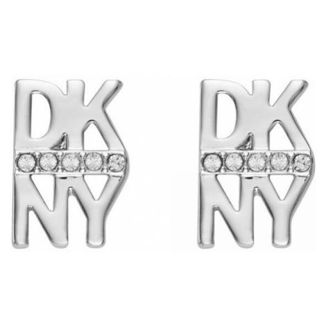 DKNY Náušnice ve tvaru loga New York