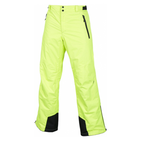 ALPINE PRO FLEMER Pánské kalhoty MPAF090530 reflexní žlutá