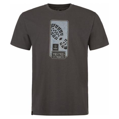 KILPI Pánské triko BOOTY-M MM0088KIDGY Tmavě šedá