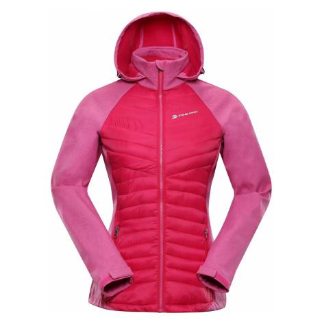 Dámská softshellová bunda Alpine Pro PERKA 2 - růžová