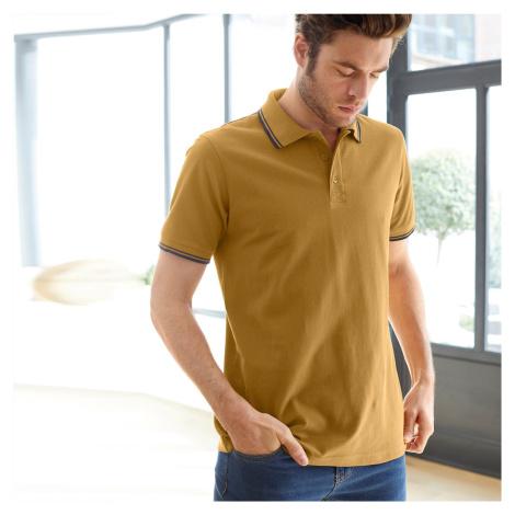 Blancheporte Polo tričko s krátkými rukávy medová