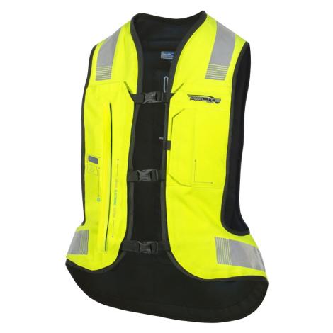 Airbagová Vesta Helite E-Turtle Hivis Rozšířená Hivis Žlutá