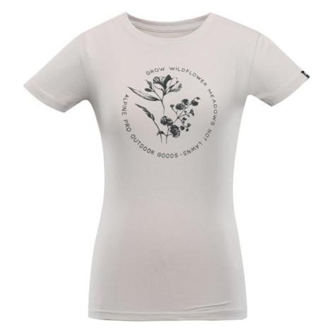 Laga šedá dámské bavlněné triko ALPINE PRO