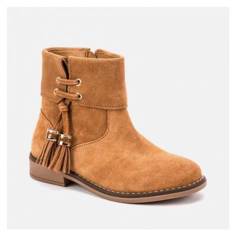 Dívčí kotníková obuv 46021 | bronzová Mayoral