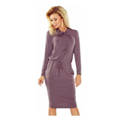 Dámské šaty Numoco 171-1 | béžová