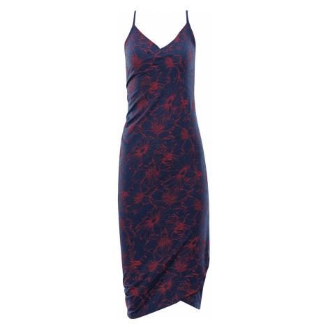 ALPINE PRO YARA Dámské plážové šaty LSKR223677PD estate blue