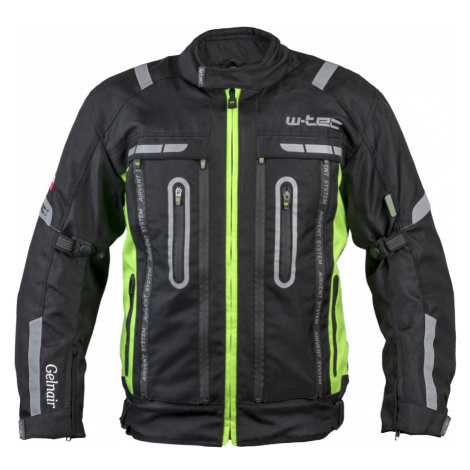 Moto bunda W-TEC Gelnair černo-zelená