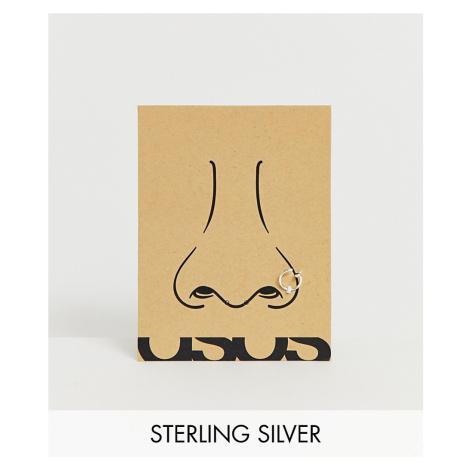 ASOS DESIGN sterling silver nose piercing