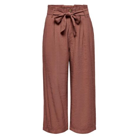 ONLY Kalhoty 'Aminta' rezavě červená