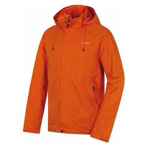 Husky Nutty M, oranžová Pánská hardshellová bunda
