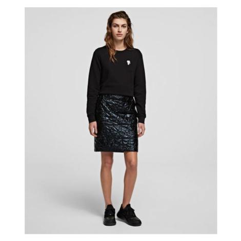 Sukně Karl Lagerfeld Quilted Skirt - Černá