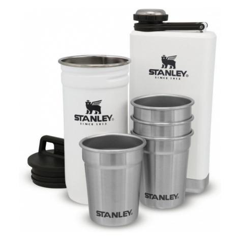 Stanley Adventure Series dárkový set (placatka 230 ml + 4x panáky) polar