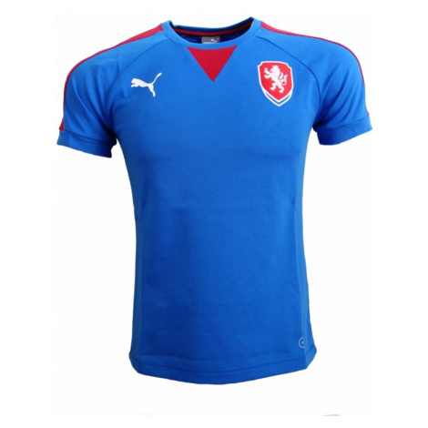 Pánské tričko Puma Česká republika Casuals Royal 74875902,