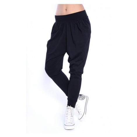 Černé harémové kalhoty Oxyd