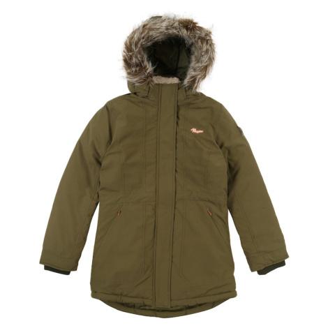 VINGINO Zimní bunda 'Trijne' tmavě zelená