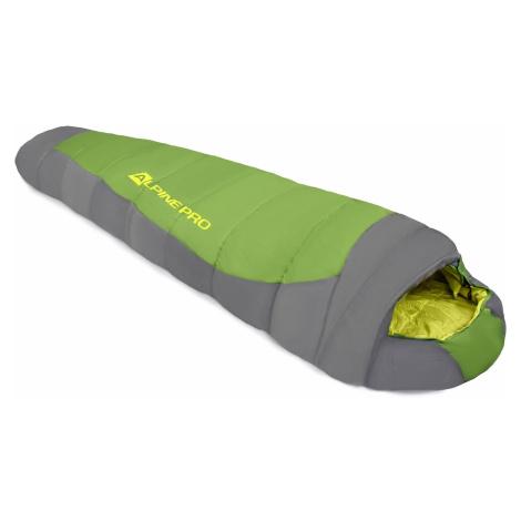 Outdoorový spacák Alpine Pro PEIRE - zelená
