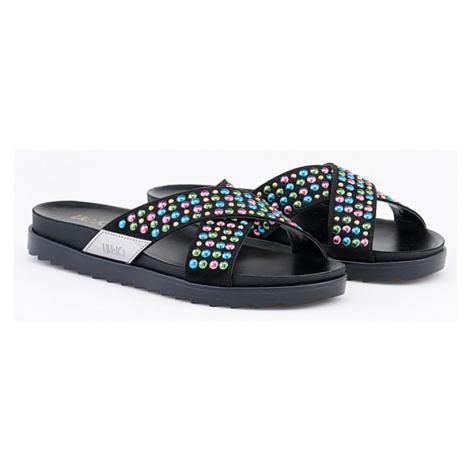 LIU JO sandalo footbed usignolo nero