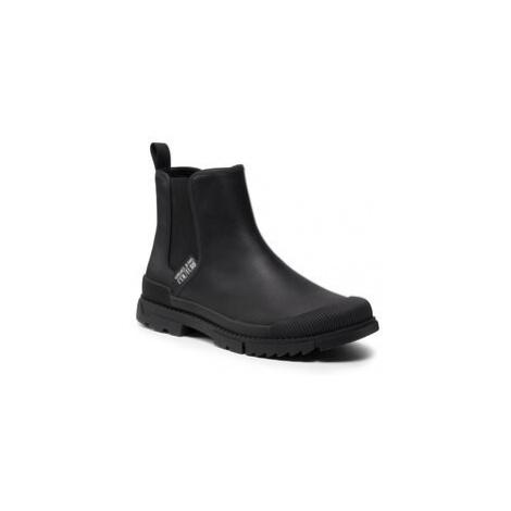 Kotníková obuv s elastickým prvkem Versace Jeans Couture