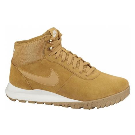 Nike HOODLAND SUEDE béžová - Pánská zimní obuv